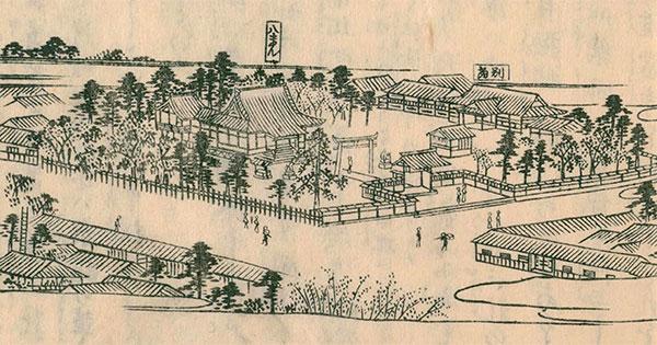 江戸名所図会:挿絵