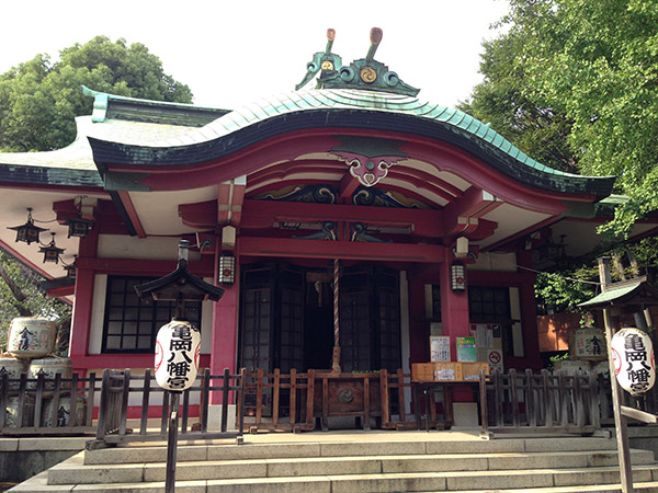 MAIN PHOTO:市谷亀岡八幡宮