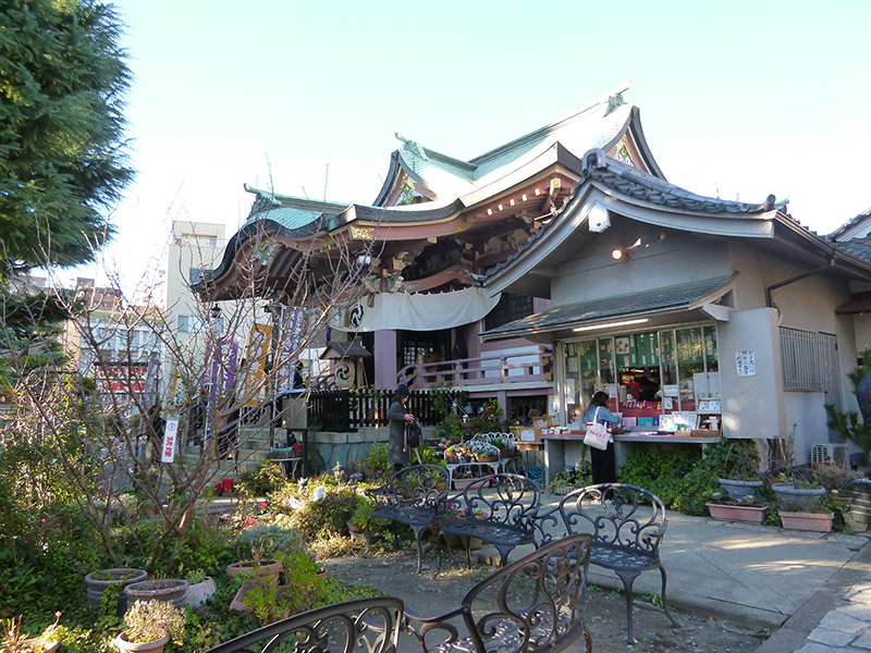 ALTRE FOTO:Imado shrine