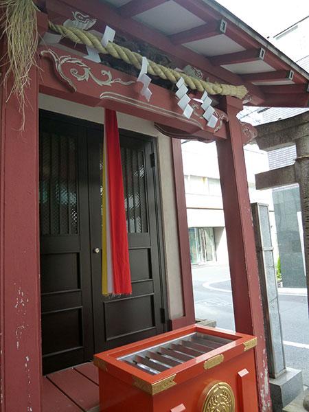 MAIN PHOTO:加賀美久米(粂)森稲荷神社