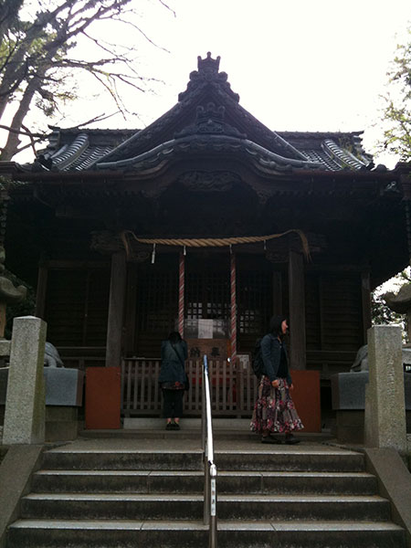 MAIN PHOTO:Zushi Kameoka Hachiman shrine
