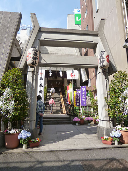 MAIN PHOTO:烏森神社