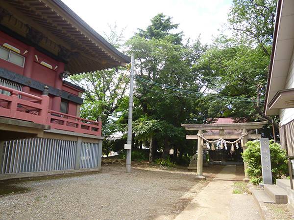 AUTRE PHOTO:Kura Taki sanctuaire ( Chiba Temple )