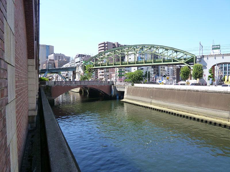 神田川を見る:昌平橋